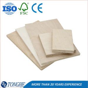 18 mm de chapa de madera de ingeniería Natural/tablero contrachapado de comerciales para muebles
