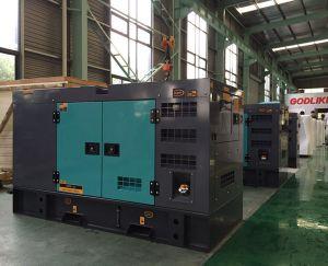 100kVA (80kw) Cummins schalldichtes Dieselgenerator-Set-Gehäuse