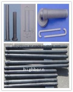 Staaf 12*40mm van de Staaf van het Nitride van het silicium Si3n4