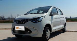 El modelo M7 DG&Rhd EV con panel solar de coche eléctrico puro