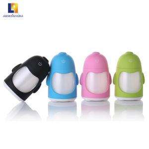 4つのカラーの携帯用車の空気超音波加湿器
