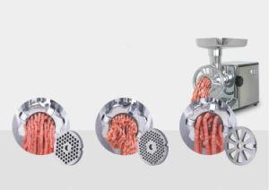 acier inoxydable à haute vitesse de la viande Sauasge meuleuse avec pièce jointe