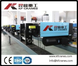 1-100t Gestionnaire de matières de bonne qualité sur le fil électrique de grue Eot palan à câble