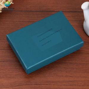 Vakje van uitstekende kwaliteit van het Document van de Druk van de Douane het Kosmetische Verpakkende met Deksel en het Tussenvoegsel van EVA