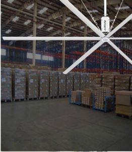 20FT Hvls ventilateurs de plafond avec moteur BLDC