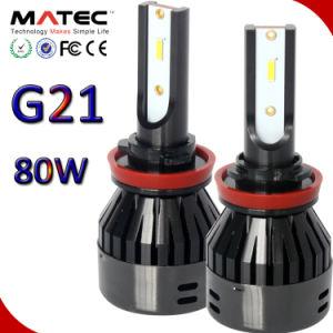 卸し売り車またはトラックのヘッドライトLED自動ランプ80With8000lm H1 H3 H4 H11 9005 9006