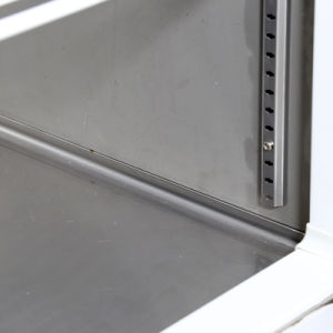 acier inoxydable Air-Cooling quatre portes Réfrigérateur vertical