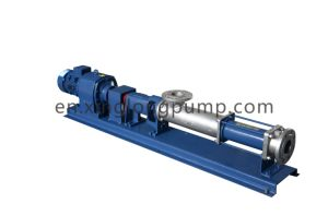 Molasses、Single Screw Pump (Cast Iron、Stainless Steel 304、316、316L)のためのねじPump