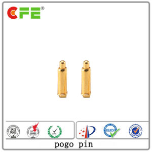 金との20V 5A SMTバネ付きのPogo Pinはめっきした
