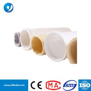 PPS Fibra y Tela semitransparente de PTFE telas filtro colector de polvo