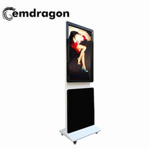 Affichage LCD pivotant 55 Inch Android LED de signalisation numérique Digital Signage téléviseur intelligent signe de la publicité