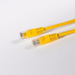 Pase de Fluke Cat 5e UTP Cable CCA para ordenador/Patch panel 2m