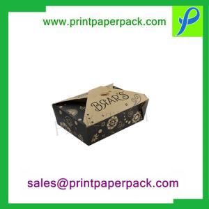 Personalizada biodegradables quitarle el envasado de alimentos de papel cartón cajas de pastel de anillos