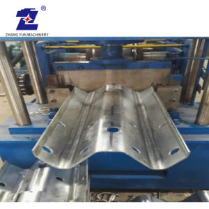 Il metallo della guardavia della strada principale laminato a freddo la formazione della macchina