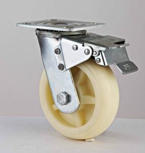 6X2'' среднего/Нейлон для тяжелого режима работы поворотный стальной самоустанавливающегося колеса