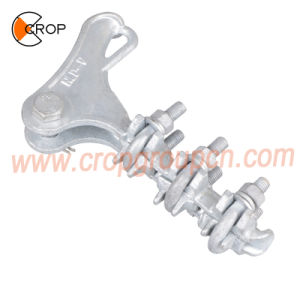 El tornillo de la Liga de aleación de aluminio tipo abrazadera de la cepa de callejón sin salida de línea aérea