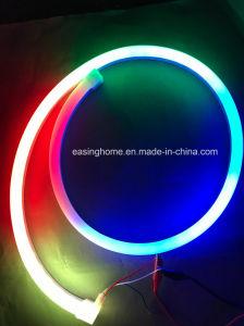Ne2212 totalmente IP68 de silicone flexível de néon 160lm/W duplo tubo de LED para Pullng protegido em faixa linear à prova de luz RGB LED