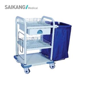 De Wasserij die van de Patiënt van het ziekenhuis Verzamelend Karretje verzorgen