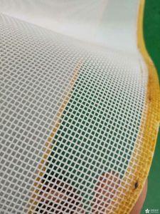 Filtro de vacío máquina Pulping Pet espiral de poliéster verde Filtro de malla de correa