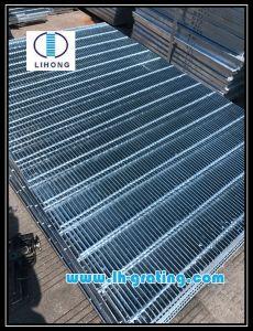 Galvanizado en caliente Q235 Rejilla de acero de la plataforma para la industria