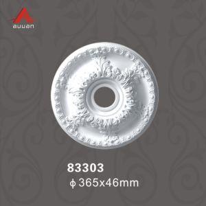 83065 Relif sculpté de la conception du panneau de plafond médaillon léger pour toit