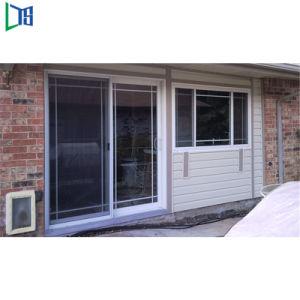 Wasser-Dampf-beständige Aluminiumprofil-schiebendes Glas-Tür