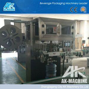 Le manchon d'étiquetage automatique de la machine avec Shrink tunnel à vapeur pour les systèmes d'étiquetage industriel