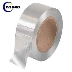 卸し売り不透明で強い付着力の防水支払能力があるアルミホイルの銀テープ