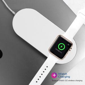 2018新しいTechnology 10W Fast Chargering 2in1 Wireless Chargerチー