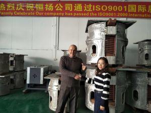 Forno ad induzione per la fusione (GW-100KG)