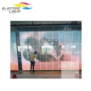 P15.6*25 Indoor DIP 3 en 1 plein écran LED en verre de couleur