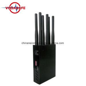 6 GSM CDMA van banden 3G 4G GPS L1 WiFi Lojack de Stoorzender van de Telefoon van de Cel, Blokkerende GPS Drijver, WiFi, Lojack en 4G Mobiele Telefoon allen in