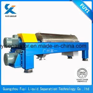 Polvere della fecola di patate e centrifuga adatta del decantatore di Fuyi del separatore di separazione dell'acqua