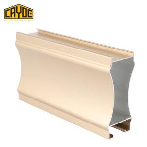 Aleación de aluminio de extrusión de materiales de construcción Perfil de puertas y ventanas