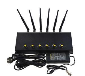 De regelbare Stoorzender van het Signaal van de Stoorzender rf van het Signaal van 6 Channals Cellphone