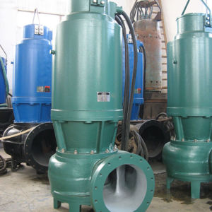 Погружение центробежный насос очистки сточных вод