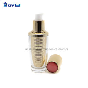UV 플라스틱 병을 포장하는 유일한 호화스러운 화장품의 다른 수용량