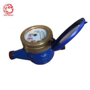 Medidor de agua seco de chorro múltiple, con medidor de agua de Clase B