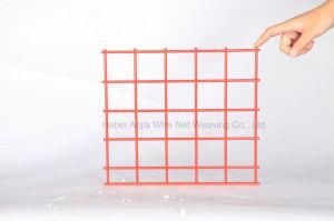 Recubierto de PVC galvanizada malla cerco de malla de alambre soldado