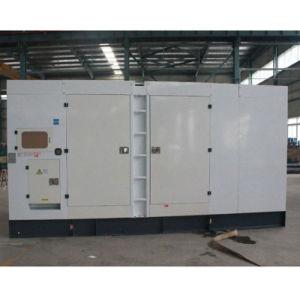 Generatore diesel silenzioso elettrico Genset di inizio 180kw 225kVA di potere di marca