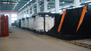 500kg durable four à induction fonte acier de rebut