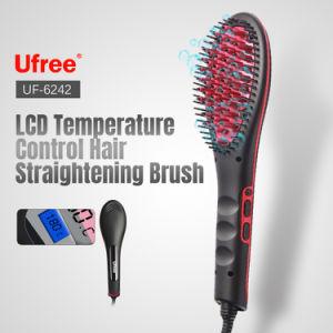 contrôle de la température Ufree Magic Hair Brosse de redressage avec affichage LCD