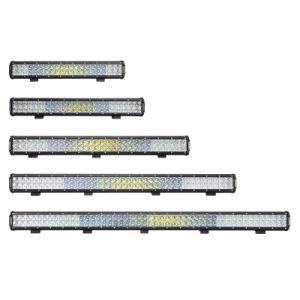 24V 144W imprägniern Beleuchtung-Stab des Auto-LED mit Objektiv 5D