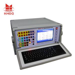 На заводе шесть фазы вторичного реле системы впрыска производства тестер для проверки реле