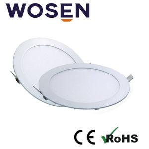 Nuevos Productos Panel de LED blanco cálido 9W Iluminación