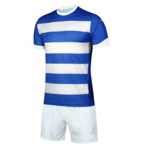 Uniforme respirabile di calcio di usura di sport del vestito di gioco del calcio della banda personalizzata S di Men