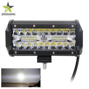 De in het groot LEIDENE Combo van Wrangler 7inch van de Jeep Drijf4X4 Lichte Staaf van het Werk, Offroad Mini LEIDENE Lichte Staaf