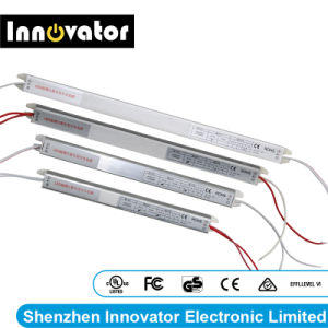 Alimentazione elettrica ultrasottile della casella chiara di DC12V 4A LED