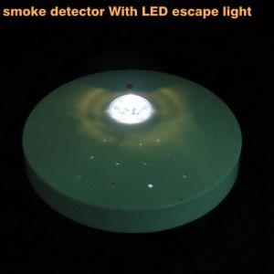 Высокая стабильность безопасности поставок Автономный дымовой извещатель с светодиодный индикатор эвакуации