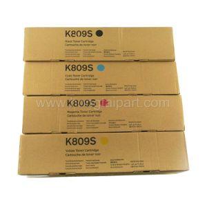 Toner-Kassette für Samsung Multixpress Clx-9201na 9251na 9301na (CLT-K809S CLT-C809S CLT-M809S CLT-Y809S)